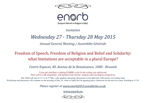 ENORB AGM May 2015